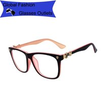 name brand eyeglasses - Vintage eyeglasses frame Reading Glasses metal glasses frame myopia Women non mainstream male Brand Name Fashion woman