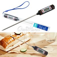 bbq bath - Kitchen Food Thermometer Electronic Temperature Gauges Digital Probe Cooking Meat Kitchen BBQ Temperature Selectable