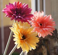 artificial christmas flower - Fashion Hot Colors New Artificial daisy decorative flowers for home decoration wedding decoration christmas home desk decorate