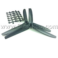 Wholesale 4 Pairs GWS quot x5 blade CW CCW Propellers For Multicopter Photography