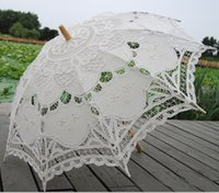battenburg lace parasol umbrella - Fashion Battenburg Lace Parasol Umbrella Wedding Bridal