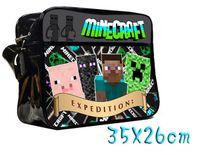 Wholesale 2015 New creative Minecraft travel bags schoolbags Creeper Shoulderbags Minecraft Bags schoolbag Cartoon bags tt41226707825 hql