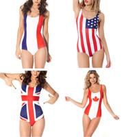 swimwear uk - Fashion Swimming Suit Canada UK French US AU EU Italy Brazil Flags Swimwear United Kingdom Flags Australia Flags United Stated Flags
