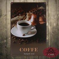 advertising door hangers - Retro Style Coffee Advertising Sign door sign Wall Hanger Sign Garden kicchen decor