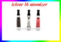 Cheap 7 Colors INNOKIN iClear 16 Atomizer 2.1ohm Rebuildable Coil 1.6ml Dual Coils Clearomizer For iTaste VV V3.0 VS iclear 30s