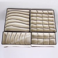 Wholesale Foldable Box Storage Box For Bra Underwear Briefs Necktie Socks A Set