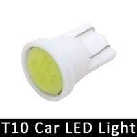 Wholesale 10pcs T10 COB led light white color T10 W5W Car Turn Signal Side Interior bulb side and dome lights