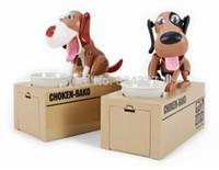 Wholesale Pieces Choken Bako Robotic Dog Bank Canine Money Box Doggy Coin Bank