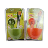 beauty face shop - New In1 DIY Bowl Brush Spoon Beauty Set Homemade Face Mask Outfit Kit B2C Shop