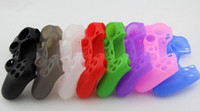Wholesale Soft Silicone Gel Rubber Case Skin Grip Cover For SONY Playstation PS4 Controller
