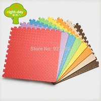 Wholesale 2014 Hot Selling New Material Week Eight EVA Crawling Baby Child Puzzle Foam Mats x60CM Patchwork Floor MatLarge thickening