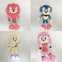 adventure production - Big adventure of sonic plush toy foreign trade orders to figure processing customized production Cartoon plush toys