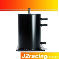 Wholesale J2 RACINGSTORE Fuel Swirl Pot Alloy LT Fuel Surge Tank For Motorsport Race Drift Rally Drag Car PQY TK05BK