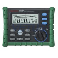 Wholesale digital insulation tester MS5203 Insulation test voltage V high accuracy low price with Voltage detection and alarm function C