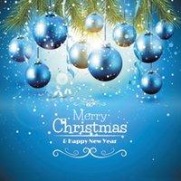 al por mayor epk-8x8ft tema de Navidad Vinilo personalizado Fotografía Backdrops Props estudio de fondo EPK-449