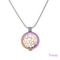 Wholesale Mi Moneda Coin Locket Neckalce Crystal Locket Pendant With CM Fashion Snake Chian Stainless Steel MID029