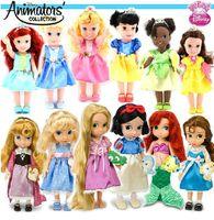 animators collection ariel - Animators Collection quot Toddler Doll snow White Ariel Aurora Cindirella Belle Rapunzel Merida NEW