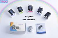 Wholesale 2016 Digital Fingertip Pluse Oximeter OLED Pulse Oximeter Display Pulsioximetro SPO2 PR Oximetro De Dedo Heart Rate Meter