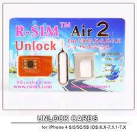 Wholesale UNLOCK CARD R SIM Air2 For S C S iOS X X Sprint N