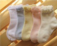 Wholesale Baby Socks Meias Infantil Solid White Baby Boy Girls Roupas Infantil Meninas New Born Meias Bebe