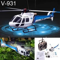 6ch rc helicopter - WLtoys V931 G CH Brushless AS350 Flybarless aerobatic flight RC Helicopter
