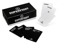 Wholesale Superfight Popuar Card Games SUPERFIGHT Card Core Deck Superfight Card Superfight Game Card A Game of Absurd Arguments Party Game Cards