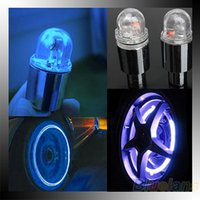 motor cycle - New Hot Pair Motor Cycling Bike Tyre Tire Valve LED Car Bicycle Wheel Lights DQ