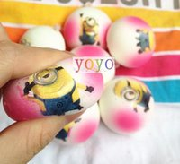 Cheap (30pcs)pink pu bread squishy soft round food Cell Phone charms and bag Accessories squishies mix color order free shipping