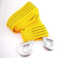 Wholesale Front Rear Hook Heavy Duty High Strength Racing Tow Strap Towing Rope Universal Brand New Good Quality