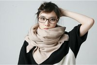 knitted cashmere scarf - 2014 new winter long warm wool knitted cashmere scarf The shawl