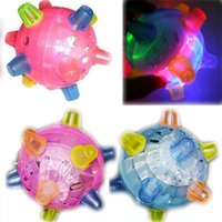 ball jump toy - led dancing ball flashing Jumping Music colorful bounce bouncing dance ball plastic skip toy ball