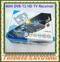 Wholesale New DVB T2 M8 Set Top Box Digital Video Broadcasting Terrestrial Receiver Full HD P Digital H MPEG4 Support D USB interface