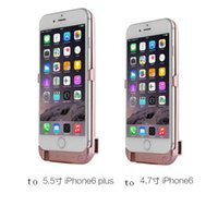 apple power source - Iphone6S Dedicated Rechargeable Batteries Mobile Phone Batteries Portable Power Source Mobile Wireless Power Supply Ultrathin Back Bettery