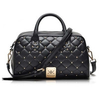 Wholesale 2015 new kardashian kollection handbags new portable shoulder bag Messenger bag Quilted rivet package kk Z234