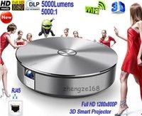 Wholesale 2015 Newest JMGO G1 DLP High Brightness Lumens WXGA x800 Home Theater Mini Projector P HD D WiFi Android LAN LED Projector