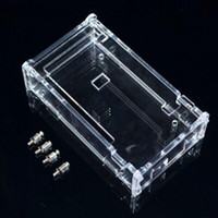 acrylic enclosures - Enclosure Transparent Gloss Acrylic Box Compatible for arduino Mega R3 Case for Electronic Components case