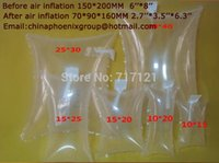 Wholesale Protective Cushioning Material100pcs mm air dunnage bag gas filling tools