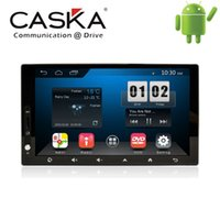 Wholesale 7 CASKA Interchangeable din Car DVD Player Universal Android Suitable for All Car Models OEM standard in dash