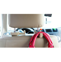 Wholesale Portable Fastener Clip Seat Hanger Durable Purse Bag Organizer Holder Hook For Car Auto