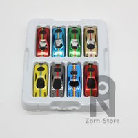 Wholesale Zorn Store alloy car scooter Simulation Model Sports car cars randomly mixed multicolor children s toys Small Metal sliding car