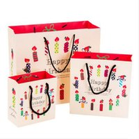 Wholesale Large Size Children Gift Paper Bag Princess Wedding Candy Bag Gift Bags With Handles