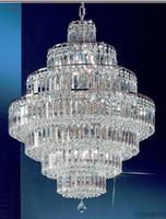 big light fixtures - Modern Luxury Elegant K9 Crystal Chandeliers Big Clear K9 Crystal Lighting Fixture Villa Hotel Living Room Crystal Light