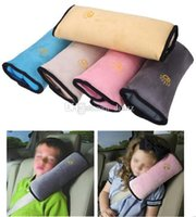 Wholesale New Arrive Universal Car Seat Cover Safety Belts Pillow Children Strap Shoulder Supply Cushion Pillows Protection Interior Car Styling