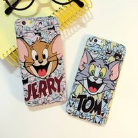 apples tom - New Hot Catoon Tom and Jerry Soft TPU Phone Back Cover Phone Case For Iphone quot YC882