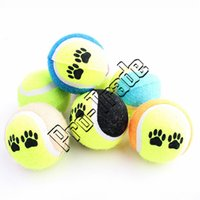 Wholesale High Quality Pet Tennis Balls Fetch Throw Chew Dog Balls Toys without stretch