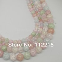 Wholesale MM MM MM MM Natural stone white crystal popcorn Loose Stone Jewelry Beads Gemstone beads