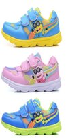 basketball shoes pumps - Kids Sport Shoes Basketball Shoes Roshe Runs Boys Despicable Me Minions Trainers Velcro Pumps Kids Character Shoes Size