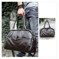 Men leather duffle bag - 100 Brand New Hight Quality Fashion Men Casual Faux Leather Handbag Shoulder Bag Sports Duffle Tote Bag