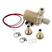 Wholesale 12V M Solar Hot Water Pump Circulation Brushless Motor Fahrenheit w Coupler