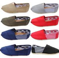 vans shoes - brand men s Women s casual solid canvas shoes EVA flat pattern stripes lovers Glitter shoes Classic canvas shoes shoe